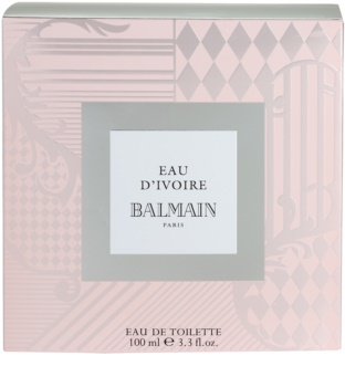 Balmain Eau d'Ivoire Eau de Toilette for Women 100 ml