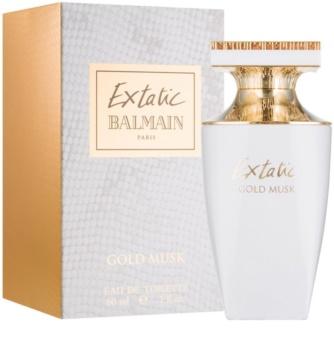 Balmain Extatic Gold Musk toaletní voda pro ženy 60 ml