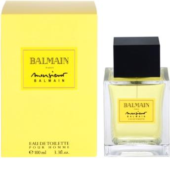 21cd3bc1 Balmain Monsieur Balmain, Eau de Toilette for Men 100 ml | notino.co.uk