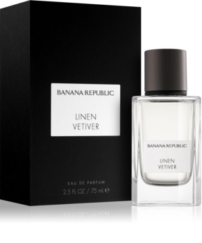 Banana Republic Icon Collection Linen Vetiver eau de parfum unissexo 75 ml
