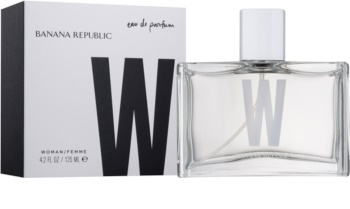 Banana Republic Banana Republic W Eau de Parfum voor Vrouwen  125 ml