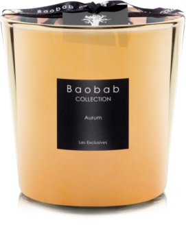 Baobab Les Exclusives Aurum Scented Candle 6,5 cm