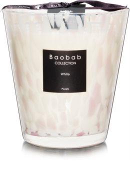 Baobab White Pearls bougie parfumée 16 cm