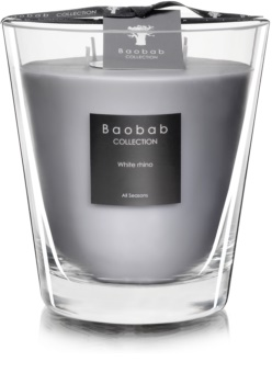 Baobab White Rhino candela profumata 16 cm