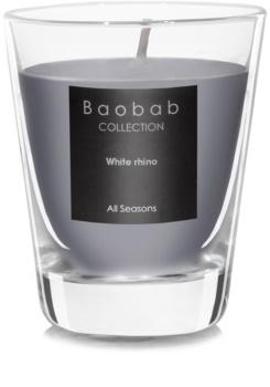 Baobab White Rhino bougie parfumée (votive) 6,5 cm