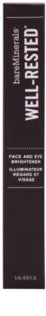 BareMinerals Well-Rested® enlumineur visage et contour des yeux