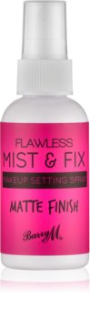 Barry M Flawless Mist & Fix spray matifiant fixateur de maquillage