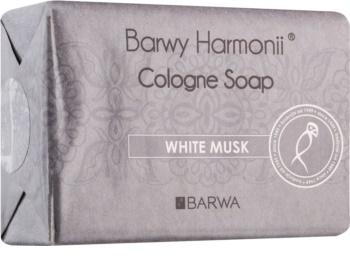Barwa Harmony White Musk tuhé mýdlo s vyhlazujícím efektem
