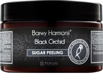 Barwa Harmony Black Orchid exfoliant din zahar cu  efect de intinerire