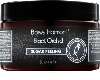 Barwa Harmony Black Orchid šećerni peeling s učinkom pomlađivanja