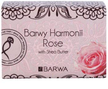 Barwa Harmony Rose mýdlo s bambuckým máslem