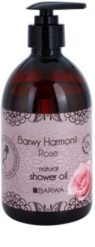 Barwa Harmony Rose tusoló olaj parabénmentes