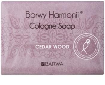 Barwa Harmony Cedar Wood sabonete sólido com efeito hidratante