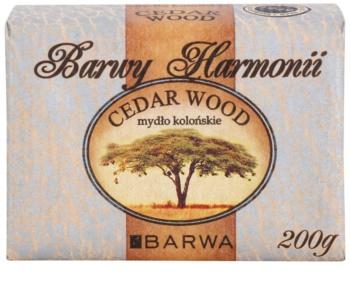 Barwa Harmony Cedar Wood Vaste Zeep  met Hydraterende Werking