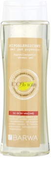Barwa Natural Hypoallergenic gel de duche para pele sensível