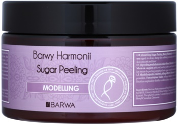 Barwa Harmony Modelling Sugar Scrub To Treat Cellulite