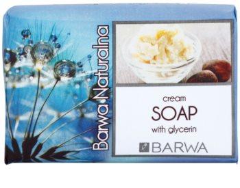 Barwa Natural Cream tuhé mýdlo s glycerinem