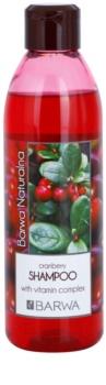 Barwa Natural Cranberry szampon do zwiększenia objętości