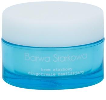 Barwa Sulphur crema con effetto idratante lunga durata per pelli grasse con tendenza all'acne