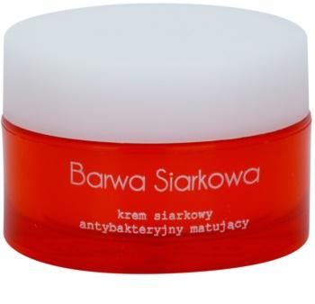 Barwa Sulphur Mattifying Cream For Oily And Problematic Skin