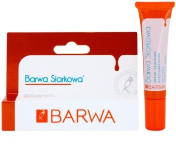 Barwa Sulphur Serum für Haut mit kleinen Makeln