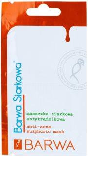 Barwa Sulphur normalizující maska proti akné