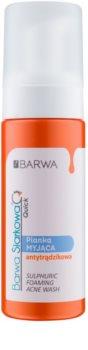 Barwa Sulphur Quick umývacia pena pre problematickú pleť