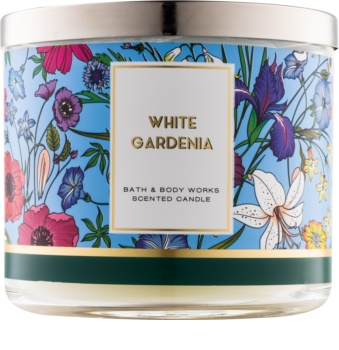 Bath & Body Works White Gardenia illatos gyertya  411 g