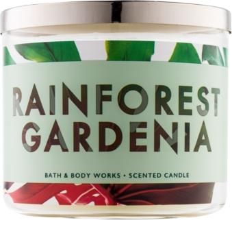 Bath & Body Works Rainforest Gardenia dišeča sveča  411 g