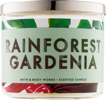 Bath & Body Works Rainforest Gardenia vonná sviečka 411 g