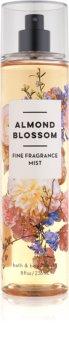 Bath & Body Works Almond Blossom spray corporel pour femme 236 ml