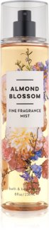 Bath & Body Works Almond Blossom spray corporel pour femme 236 ml