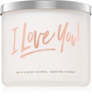 Bath & Body Works Bourbon Sea Salt Caramel vonná sviečka