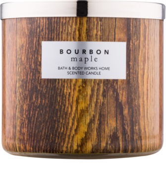 Bath & Body Works Bourbon Maple vonná svíčka 411 g
