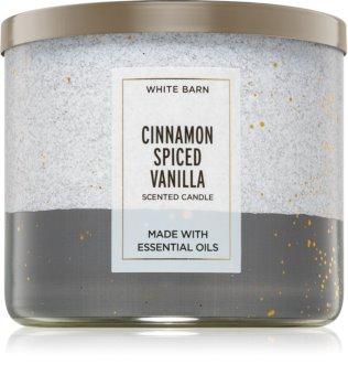 Bath & Body Works Cinnamon Spiced Vanilla vela perfumada II.