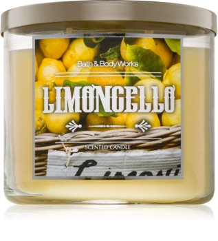 Bath & Body Works Limoncello scented candle