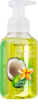 Bath & Body Works Coconut Lime Verbena hab szappan kézre