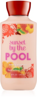 Bath & Body Works Sunset by the Pool telové mlieko pre ženy 236 ml