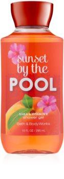 Bath & Body Works Sunset by the Pool gel za prhanje za ženske 295 ml