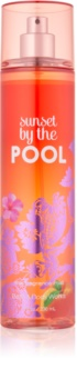 Bath & Body Works Sunset by the Pool Bodyspray  voor Vrouwen  236 ml