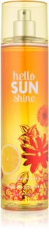 Bath & Body Works Hello Sunshine spray corporel pour femme 236 ml