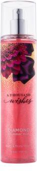 Bath & Body Works A Thousand Wishes spray corporel pailleté pour femme 236 ml