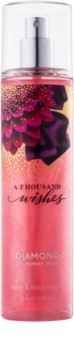 Bath & Body Works A Thousand Wishes testápoló spray nőknek 236 ml csillogó
