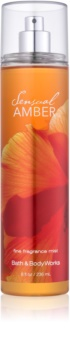 Bath & Body Works Sensual Amber spray corporel pour femme 236 ml