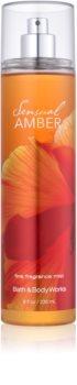 Bath & Body Works Sensual Amber telový sprej pre ženy 236 ml
