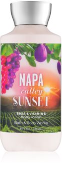 Bath & Body Works Napa Valley Sunset lapte de corp pentru femei 236 ml