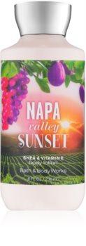 Bath & Body Works Napa Valley Sunset telové mlieko pre ženy 236 ml