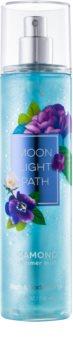 Bath & Body Works Moonlight Path spray corporel pour femme 236 ml pailleté