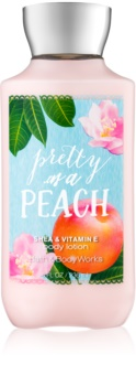Bath & Body Works Pretty as a Peach latte corpo per donna 236 ml