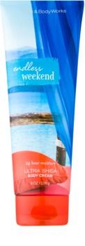 Bath & Body Works Endless Weekend Bodycrème voor Vrouwen  226 gr